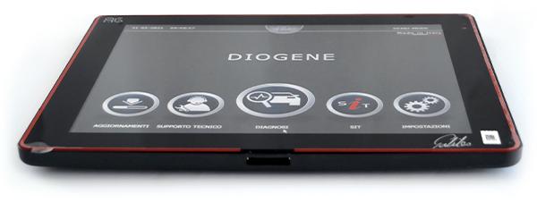 DIOGENE diagnostic tester