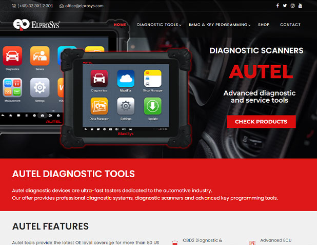 Narzędzia diagnostyczne Autel