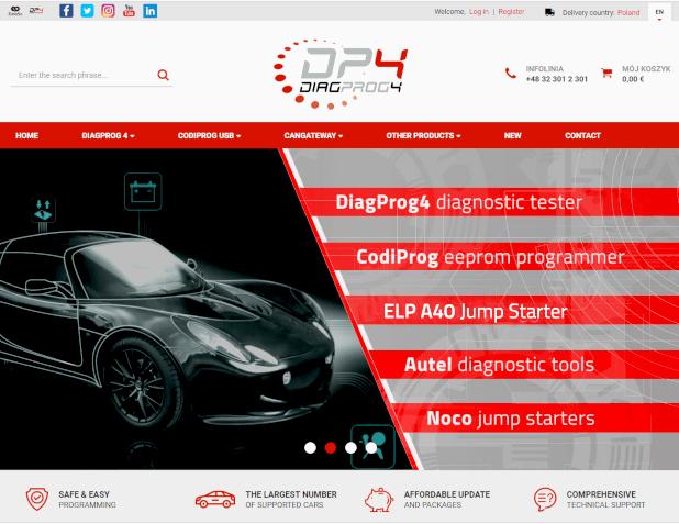 diagnostic tester diagprog4 shop